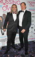 Mark Haldor and J. David Hinze at the &quot;Crossing Over&quot; UK film premiere, Cineworld West India Quay, Hertsmere Road, London, England, UK, on Sunday 06 August 2017.<br /> CAP/CAN<br /> &copy;CAN/Capital Pictures