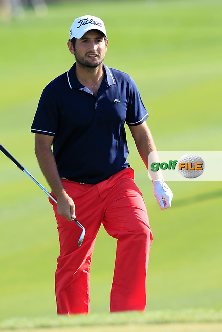 Alexander Levy (FRA) walks onto the 10th green during Thursday's Round 2 of the 2015 Commercial Bank Qatar Masters held at Doha Golf Club, Doha, Qatar.: Picture Eoin Clarke, www.golffile.ie: 1/22/2015