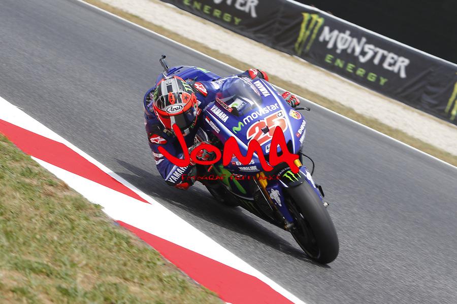 Maverick Viñales (SPA)  Movistar Yamaha MotoGP, Moto GP, Free practice, Gran Premi Monster Energy de Catalunya