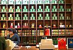 Mackwoods Labookellie tea estate factory shop, Nuwara Eliya, Central Province, Sri Lanka, Asia