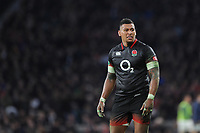 Nathan Hughes of England during the Old Mutual Wealth Series match between England and Argentina at Twickenham Stadium on Saturday 11th November 2017 (Photo by Rob Munro/Stewart Communications)