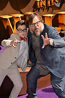 LOS ANGELES, CA. September 16, 2018: Jack Black &amp; Owen Vaccaro at the premiere for &quot;The House With A Clock In Its Walls&quot; at TCL Chinese Theatre.<br /> Picture: Paul Smith/Featureflash