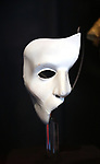 'The Phantom Of The Opera' Mask at Curtain Up: Celebrating the Last 40 Years of Theatre in New York and London Exhibition on June 14, 2017 at the New York Public Library for the Performing Arts at Lincoln Center.
