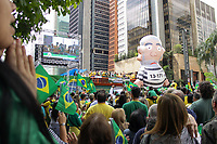 SAO PAULO, SP 21.10.2018 - ELEIÇÕES-2018 - Movimentação em apoio ao candidato à Presidencia da Republica Jair Messias Bolsonaro (PSL) na Avenida Paulista, no centro da cidade de Sao Paulo, neste domingo 21. (Foto: Felipe Ramos / Brazil Photo Press).