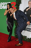 WESTWOOD, CA - NOVEMBER 5: Nikki Bella and John Cena at the premiere of Daddy's Home 2 at the Regency Village Theater in Westwood, California on November 5, 2017. Credit: Faye Sadou/MediaPunch
