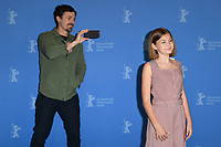 BERLIN, GERMANY - FEBRUARY 8: Casey Affleck and Anna Pniowsky attend the Light Of My Life photocall during the 69th Berlinale International Film Festival Berlin at the Grand Hyatt Hotel on February 8, 2019 in Berlin, Germany.<br /> CAP/BEL<br /> &copy;BEL/Capital Pictures