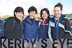 Pictured at the sponsored walk of the Old Kenmare Road in aid of Haven on Sunday morning were Eileen O'Sullivan, Mary O'Leary, Helen Curtin and Eileen O'Sullivan.........
