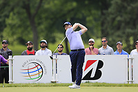 Branden Grace (RSA) tees off the 3rd tee during Sunday's Final Round of the WGC Bridgestone Invitational 2017 held at Firestone Country Club, Akron, USA. 6th August 2017.<br /> Picture: Eoin Clarke | Golffile<br /> <br /> <br /> All photos usage must carry mandatory copyright credit (&copy; Golffile | Eoin Clarke)