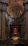 Madonna of St Luke Byzantine Icon moved from Hagia Sophia 1453 High Altar GianLorenzo Bernini 1627 Sant'Agostino Rome