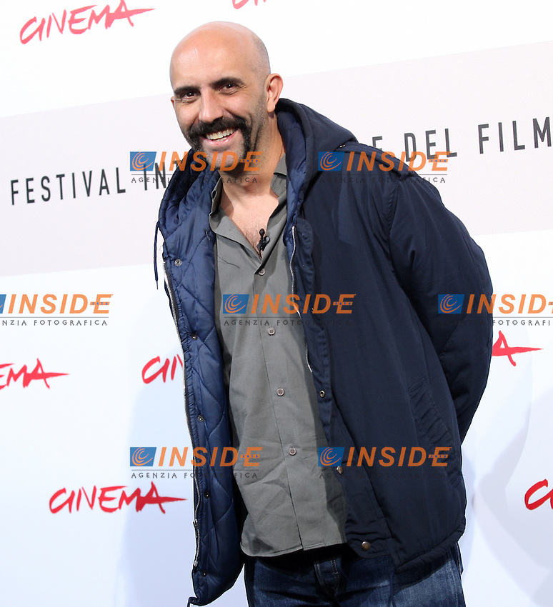 Gaspar Noe'<br /> Third edition of the Rome International film festival<br /> Roma 23/10/2008 <br /> Photocall '8'<br /> Photo Antonietta Baldassarre Insidefoto