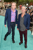 Lord Andrew Lloyd-Webber &amp; Ben Elton at the V&amp;A Summer Party at the Victoria and Albert Museum, London.<br /> June 22, 2016  London, UK<br /> Picture: Steve Vas / Featureflash