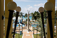 View from the lobby of the RIU Tropical Bay Hotel in Negril. Jamaica. Photo by Errol Anderson.