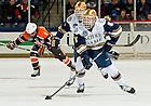 Mar. 1, 2013; Hockey vs. Bowling Green, Robbie Russo (5).