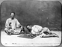 Opium smoker, 1867