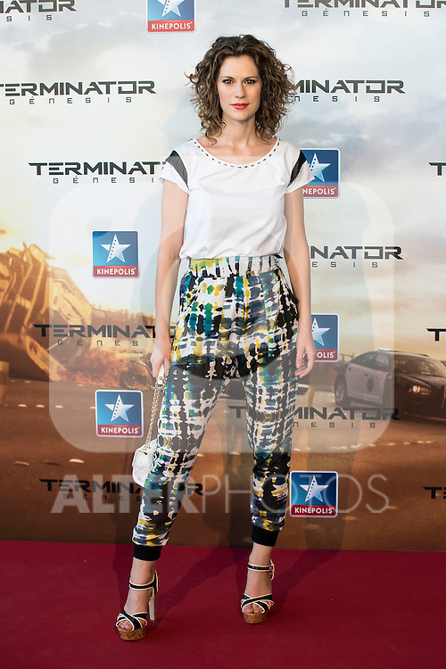 XXX attend to the premiere of Terminator Genesis at Kinepolis Cinema in Madrid, Spain. July 08, 2015.<br />  (ALTERPHOTOS/BorjaB.Hojas)