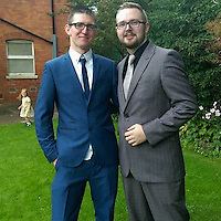 """COPY BY TOM BEDFORD<br /> Pictured: Daniel Bissell (L), image taken from his open facebook account<br /> Re: A man claims he fought off a 'killer clown' who attacked him in a dark alleyway at night.<br /> Daniel Bissell, who lives in Gloucester Road, Malvern, claims he traded punches with the clown before his attacker ran away.<br /> The incident happened in Malvern at 9.30pm on Monday, October 10, amid reports of 'killer clown' encounters across the county.<br /> Mr Bissell said: """"He tried to punch me in the face. I took a step back and swung at him with my right hand.""""<br /> The 29-year-old claims the clown ducked his punch and then fled, with the resident chasing after him."""