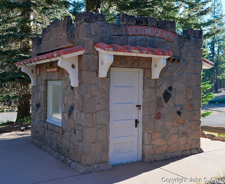 Historic Seismograph Station / Building by the Loomis Museum, Lassen Volcanic National Park, California