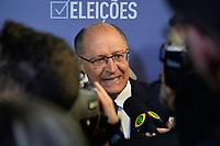 SÃO PAULO, SP - 09.08.2018 - ELEIÇÕES-2018 - Geraldo Alckmin, candidato à Presidência da República pelo PSDB, durante debate da TV Bandeirantes, realizado na sede da emissora no bairro do Morumbi em São Paulo, na noite desta quinta-feira, 09.(Foto: Levi Bianco/Brazil Photo Press)