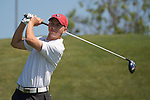 April 13, 2015; Ventura, CA, USA; Loyola Marymount Lions golfer Chase Nicolai during the WCC Golf Championships at Saticoy Country Club.