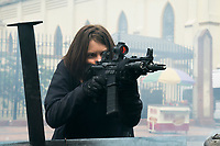 Mile 22 (2018) <br /> Lauren Cohan  <br /> *Filmstill - Editorial Use Only*<br /> CAP/MFS<br /> Image supplied by Capital Pictures
