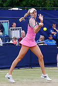 June 16th 2017, The Northern Lawn tennis Club, Manchester, England; ITF Womens tennis tournament; Number six seed Naomi Broady (GBR) in action during her quarter final singles match against number one seed Kai-Chen Chang (TPE); Broady won in straight sets and meets Zarina Dyas in tomorrow semi finals