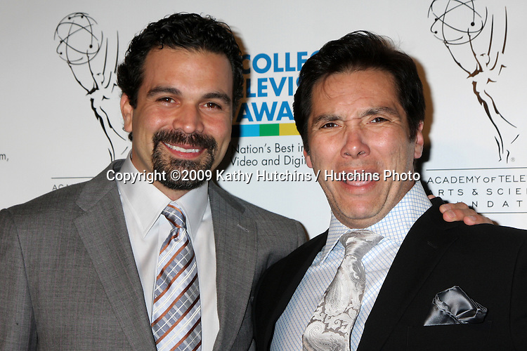 Ricardo Chavira & Benito Martinez arriving at the 30th College Television Awards Gala at Culver Studios in Culver City, CA on  March 21,  2009 .©2009 Kathy Hutchins / Hutchins Photo...                .