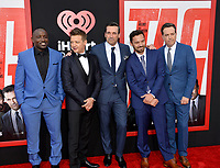 Hannibal Buress, Jeremy Renner, Jon Hamm, Jake Johnson &amp; Ed Helms at the world premiere for &quot;TAG&quot; at the Regency Village Theatre, Los Angeles, USA 07 June  2018<br /> Picture: Paul Smith/Featureflash/SilverHub 0208 004 5359 sales@silverhubmedia.com
