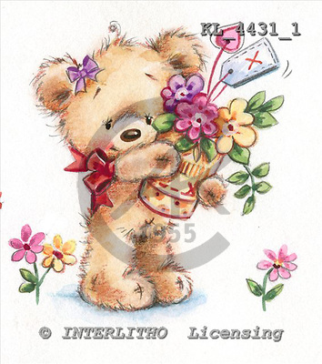 Interlitho, CUTE ANIMALS, paintings+++++,KL4422/1,#ac#,stickers stickers illustrations, pinturas ,everyday