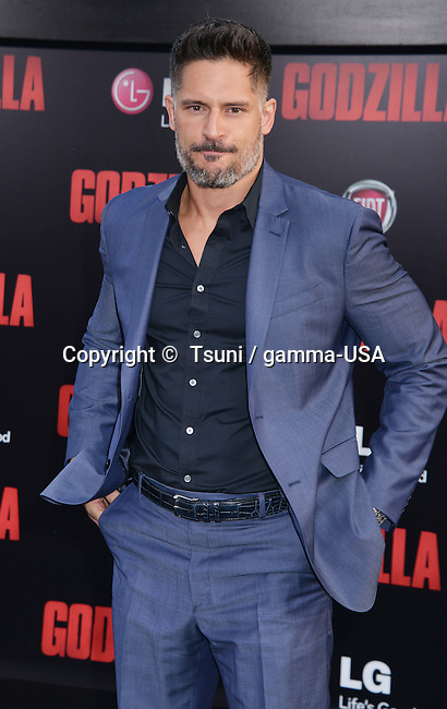 Joe Manganiello  at the Godzilla Premiere at the Dolby Theatre in Los Angeles.