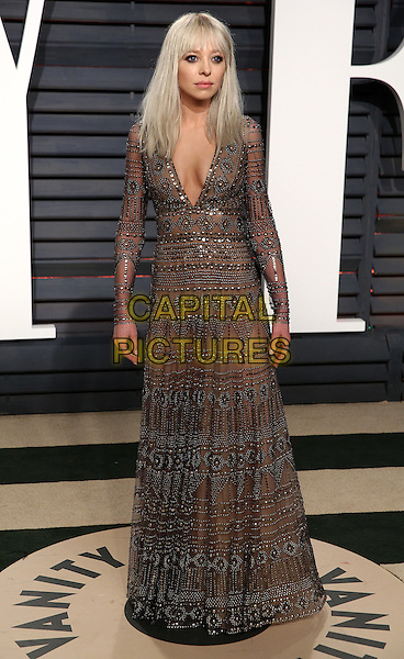 BEVERLY HILLS - FEBRUARY 26:  Portia Doubleday attends the Vanity Fair Oscar Party 2017 on February 26, 2017 in Beverly Hills, California.<br /> CAP/MPI99<br /> &copy;MPI99/Capital Pictures