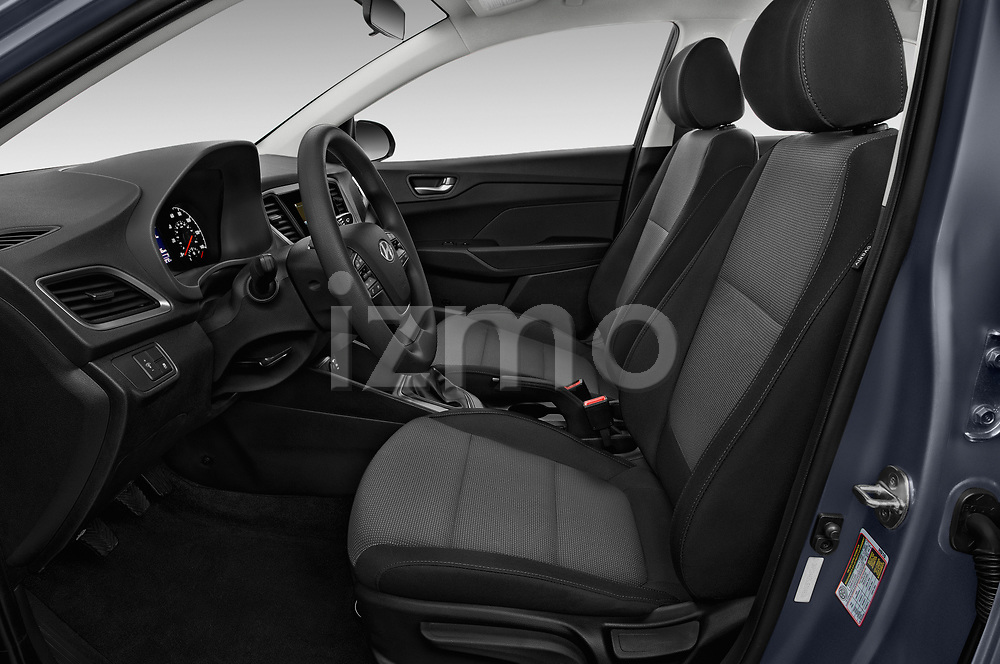 Front seat view of a 2018 Hyundai Accent SE 4 Door Sedan front seat car photos