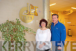 JLT Tiles, Park Business Centre, Farranfore Celebrating 20 years in business Pictured Joanne O'Regan, Owner and  David Anderson, Manager
