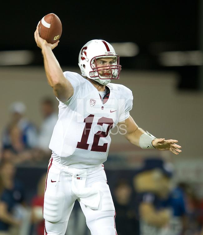 Tucson, AZ - Saturday, September 17, 2011: The Stanford Cardinal football team 37-10 over the University of Arizona Wildcats.