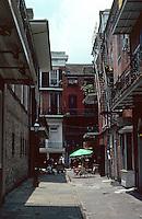 New Orleans:  Cabildo Alley.