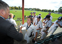 2018 Junior NZ Secondary School Cricket Boys' Tournament at Fitzherbert Park in Palmerston North, New Zealand on Friday, 23 March 2018.. Photo: Dave Lintott / lintottphoto.co.nz