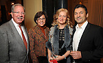 From left: Jay and Karen Harberg with Ekaterina and Igor Kliakhandler at a dessert reception for Louis Gossett Jr. and the Anti-Defamation League at Chateau Carnarvon Tuesday Nov. 11, 2014.(Dave Rossman photo)