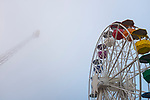 Amusement park in the clouds, Tibidabo, Barcelona