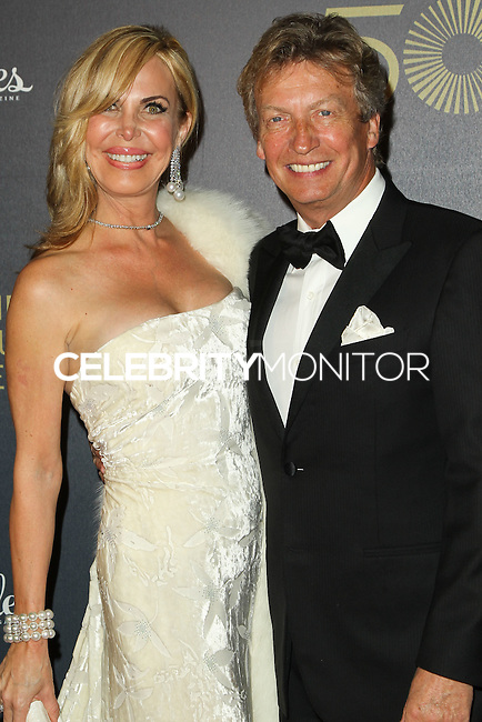 LOS ANGELES, CA, USA - DECEMBER 06: Michelle King Robson, Nigel Lythgoe arrive at The Music Center's 50th Anniversary Spectacular held at The Music Center - Dorothy Chandler Pavilion on December 6, 2014 in Los Angeles, California, United States. (Photo by Celebrity Monitor)