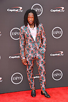 Alvin Kamara at the 2018 ESPY Awards at the Microsoft Theatre LA Live, Los Angeles, USA 18 July 2018<br /> Picture: Paul Smith/Featureflash/SilverHub 0208 004 5359 sales@silverhubmedia.com