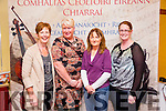 At the Kerry County Convention of Ceoltas in the Meadowlands Hotel on Sunday were l-r  Anne Cummins, Ballybunion, Marie Houlihan, Ballybunion, Mary Mulvihill and Betty Joyce.