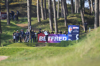 Edoardo Molinari (ITA) on the 8th tee during Round 3 of the Betfred British Masters 2019 at Hillside Golf Club, Southport, Lancashire, England. 11/05/19<br /> <br /> Picture: Thos Caffrey / Golffile<br /> <br /> All photos usage must carry mandatory copyright credit (&copy; Golffile | Thos Caffrey)
