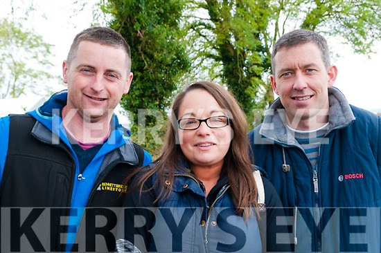 Glin Coursing: Attending the Glin coursing on Sunday last were Billy Doyle, Nora Browne & Derek Galvin fro Listowel.