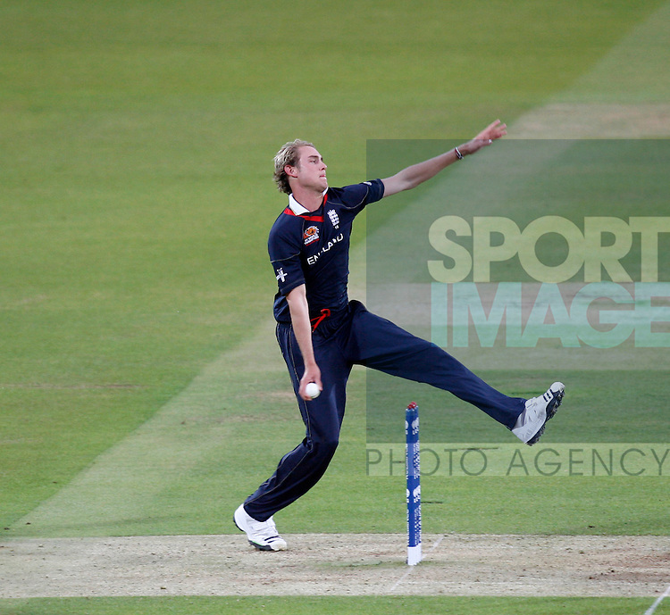 England's Stuart Broad.