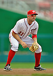 15 May 2012: Washington Nationals third baseman Ryan Zimmerman faces the San Diego Padres at Nationals Park in Washington, DC. The Padres defeated the Nationals 6-1 to split their 2-game series. Mandatory Credit: Ed Wolfstein Photo