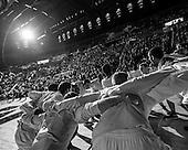 The University of Michigan men's basketball team beat Iowa, 95-67, at Crisler Center in Ann Arbor, Mich., on January 6, 2013.