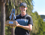 2020 Super 6s champion Daniel Hillier. Final day of the Jennian Homes Charles Tour / Brian Green Property Group New Zealand Super 6s at Manawatu Golf Club in Palmerston North, New Zealand on Sunday, 8 March 2020. Photo: Dave Lintott / lintottphoto.co.nz