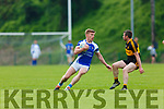 Tommy Walsh Kerins O'Rahillys takes on Shane Doolan Dr Crokes during the County league clash in Killarney on Saturday