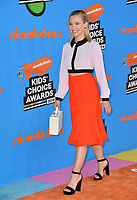Kristen Bell at Nickelodeon's 2018 Kids' Choice Awards at The Forum, Los Angeles, USA 24 March 2018<br /> Picture: Paul Smith/Featureflash/SilverHub 0208 004 5359 sales@silverhubmedia.com