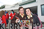 Nicola Mulvhill and Megan Galvin from Presentation Listowel pictured at the IT Tralee open day on Friday.