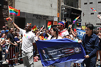 NEW YORK, EUA, 25.06.2017 - PARADA-NEW YORK - Michael A. Blake durante a Parada do Orgulho LGBT na cidade de New York nos Estados Unidos neste domingo, 25. (Foto: Vanessa Carvalho/Brazil Photo Press)